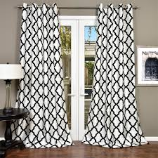 lambrequin trellis bold flocked curtain panel free shipping