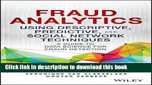download fraud analytics using descriptive predictive and social