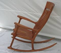 Rocking Chair Runners Handmade Cherry Rocking Chair By Wood In Motion Custommade Com