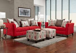 lacks stix 2 pc red living room set stix 2 pc red living room set