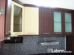 Kitchen Set Minimalis Putih Dapur Kaca 3 Pintu Bawah Rak Pendek Laci Kitchen Set Ksb Pakaian
