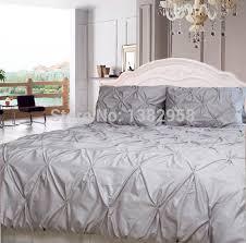 West Elm Pintuck Duvet Cover Bedroom Organic Cotton Pintuck Duvet Cover Shams West Elm For