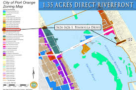 Intracoastal Waterway Map 1 35 Acres Riverfront In Port Orange