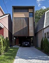 house plans for a narrow lot contemporary home plans for narrow lots decohome