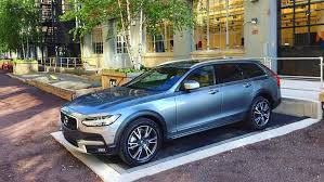 volvo the 2017 volvo v90 cross country review a wagon done right the