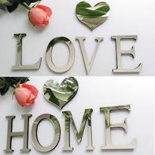 Home Name Plate Design Online Compare Prices On Alphabet Mirror Online Shopping Buy Low Price