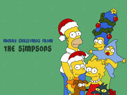 simpsons thanksgiving the simpsons merry christmas from the simpsons wallpaper books