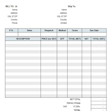 sample of invoices for services blank invoice template invoice
