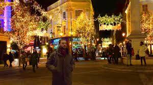 london christmas lights walking tour london walk seven dials christmas lights england uk youtube
