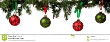 ornament hanging from garland stock images image 11636124