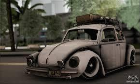 stanced volkswagen beetle volkswagen beetle vosvos 1973 for gta san andreas