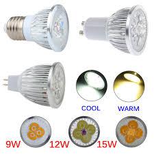 Led Lights Bulbs by 1 10 20 50x Dimmable 6w 9w 12w Mr16 E27 Gu10 Led Spotlight Lamp
