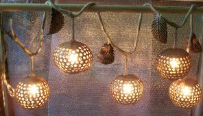 hanging lamps lighting design and coconut on garden inside how to