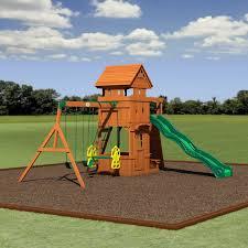 Big Backyard Replacement Parts Backyard Discovery Monterey All Cedar Swing Set U0026 Reviews Wayfair