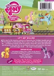 K He In Pink Image Friendship Express Dvd Back Cover Png My Little Pony