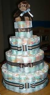baby shower diapers cake photo gallery