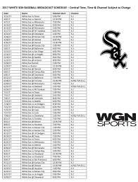 Chicago White Sox Map by Chicago Cubs U0026 Chicago White Sox Return To Kcrg 9 2 In 2017
