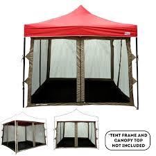 inner pop up tent zippered entry full mesh walls pvc floor