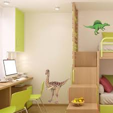 giant gallimimus wall sticker see how to make a dinosaur wall mural