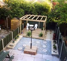 Patio Ideas For Small Gardens Uk Garden Landscaping Project In Stockport Garden Patio Decking