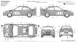 mitsubishi lancer drawing mitsubishi lancer evolution vi 1999 wrc drivers champion model