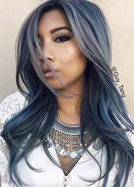 saphire black hair 50 magically blue denim hair colors you will love fashionisers