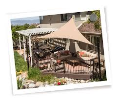 Backyard Shade Solutions by Sugarhouse Awning Tension Structures U0026 Shade Sails