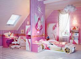 adorable girls bedroom designs with pink color shade and fantastic