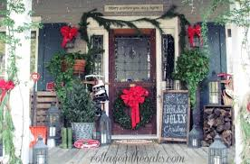 Outdoor Christmas Decorations Ideas Porch by Christmas Decorations Outdoor Porch Designcorner