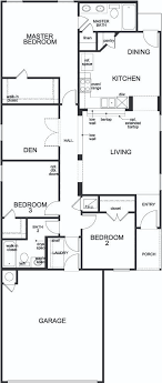 floor plan for new homes plan 1340 new home floor plan in esperanza by kb home