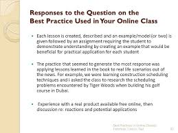 we do your online class best practices in engaging students with diverse learning styles