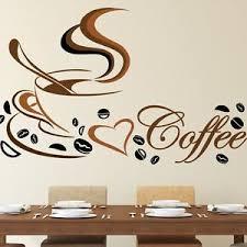k che wandtattoo wandtattoo küche coffee spruch kaffee tasse herz wandaufkleber