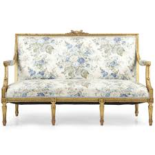 style house canapé louis xvi style carved giltwood antique settee sofa canape