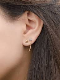 stud ear best 25 tiny stud earrings ideas on gold jewelry