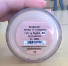 bareminerals spf 15 foundation fairly light reviewcoup bare minerals original spf 15 foundation 28 oz fairly
