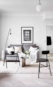 glamorous monochromatic living room ideas design for home