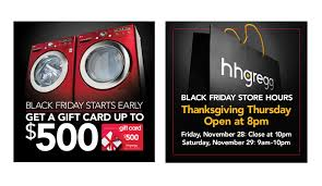 hh gregg black friday h h gregg black friday event 2014 u2013 joe giordano design 917 833 0607