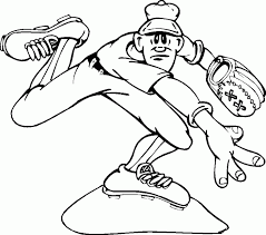 baseball bat coloring pages bat glove and ball coloring page sports pages of