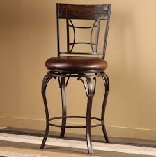 furniture cool design of metal bar stools with back showing