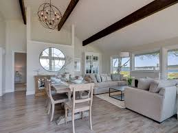exquisite no bank waterfront beach house unobstructed 180 degree