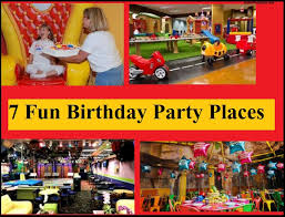 party places for kids 7 birthday party places including the zoo with infographic