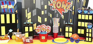 Diy Superhero Room Decor Birthday Party Ideas Birthday Express