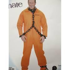 Prison Jumpsuit Halloween Orange Jumpsuit Fashion Ql