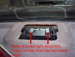third brake light assembly third brake light repair 97 mercedes benz forum