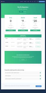 plans pricing page faq jobandtalent by jaime de ascanio dribbble 57 best pricing tables images on pinterest pricing table design