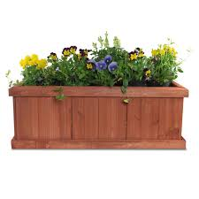 Window Boxes Planters by 100 Wooden Box Planters Wood Box Wood Boxes Succulent