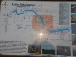 Lake Sakakawea Map 2 On The Road Garrison Dam And Lake Sakakawea