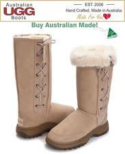 ugg boots australian made sheepskin lace up boots for ebay