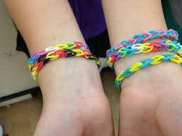 bracelet made with rubber bands images Rainbow loom rubber band bracelets the latest fad among kids and jpg