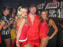 get your swimsuits ready and wear a baywatch costume for halloween